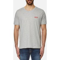 HUGO Men's Durned Small Logo T-Shirt - Open Grey - L - Grey