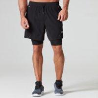 Dual Sport Shorts - S - Black