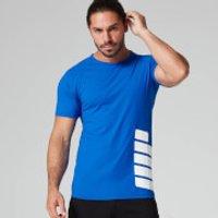Brand Print T-Shirt - S - Black