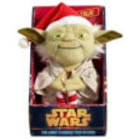 Star Wars Yoda Christmas Talking Plush (Medium 9  )