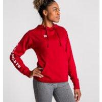 IdealFit Athlete Hoodie Red - L - Red