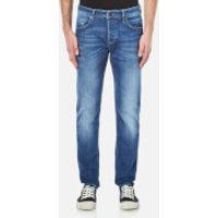 BOSS Orange Mens Orange 90 Tapered Jeans - Bright Blue - W32/L34