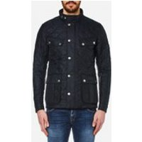 Barbour International Mens Ariel Quilt Jacket - Navy - XL