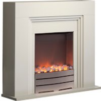 Warmlite WL45011 York Fireplace Suite - Ivory - Ivory Gifts