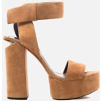 Alexander Wang Keke Platform Heeled Sandals - Clay