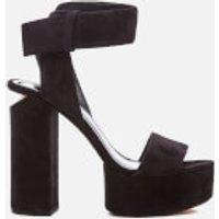 Alexander Wang Keke Platform Heeled Sandals - Black