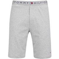 Tommy Hilfiger Mens Icon Cotton Shorts - Grey Heather - M - Grey