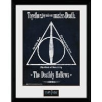 Harry Potter Deathly Hallows Framed Photographic - 16 x 12
