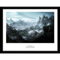 Skyrim Vista Framed Photographic - 16 x 12