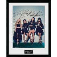 Pretty Little Liars Line Up Framed Photographic - 16 x 12