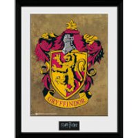 Harry Potter Gryffindor Framed Photographic - 16   x 12 - Gryffindor Gifts