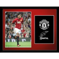 Manchester United Martial 16-17 Framed Photographic - 16 x 12