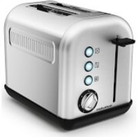 Morphy Richards 222006 Accents 2 Slice Toaster - Stainless Steel