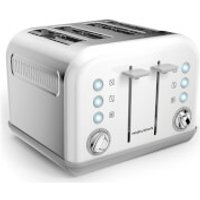 Morphy Richards 242032 Accents 4 Slice EPP Toaster - White