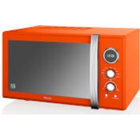 Swan 25L Digital Combi Microwave - Orange