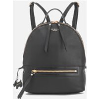 Radley Womens Northcote Road Medium Zip Top Backpack - Black