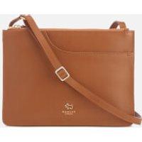 Radley Womens Pockets Medium Zip Top Cross Body Bag - Tan