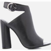 Kendall + Kylie Women's Gigi Leather Heeled Sandals - Black - UK 4/US 6 - Black
