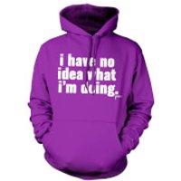 Jaiden I have no idea.. Hoodie - Purple - L - Purple Gifts