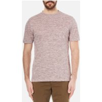 PS by Paul Smith Men's Textured Crew Neck T-Shirt - Pink - XL - Pink