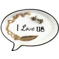 I Love Us Jewellery Tray - Jewellery Gifts
