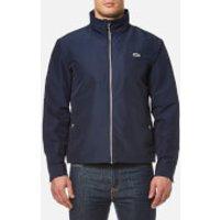 Lacoste Mens Zipped Rain Jacket - Navy - EU 52/XL