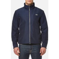 Lacoste Men's Zipped Rain Jacket - Navy - EU 50/L - Navy