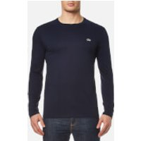 Lacoste Mens Long Sleeve T-Shirt - Navy - 7/XXL - Navy