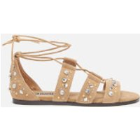 Senso Women's Felicia Suede Lace Up Sandals - Toffee - UK 7 - Tan