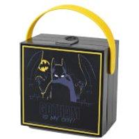 LEGO Batman Lunch Box with Handle - Black - Batman Gifts
