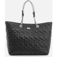 Karl Lagerfeld Womens K/Kuilted Shopper Bag - Black