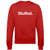 Stuffed Christmas Sweatshirt - Red - S - Red