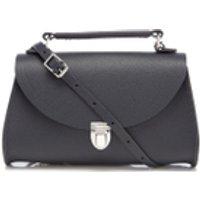 The Cambridge Satchel Company Womens Mini Poppy Bag - Navy Saffiano