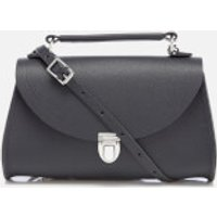 The Cambridge Satchel Company Womens Mini Poppy Bag - Navy Saffiano