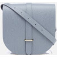 The Cambridge Satchel Company Womens Saddle Bag - French Grey Grain