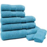 Restmor 100% Egyptian Cotton 7 Piece Supreme Towel Bale Set (500gsm) - Teal