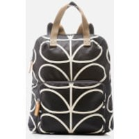 Orla Kiely Womens Stem Tote Backpack - Black