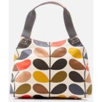 Orla Kiely Womens Stem Classic Zip Shoulder Bag - Multi