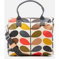 Orla Kiely Womens Stem Zip Messenger Bag - Multi