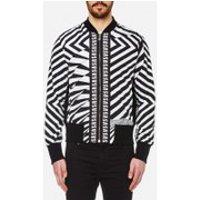Versus Versace Men's All Over Print Bomber Jacket - Black/White - EU 50 - Black/White
