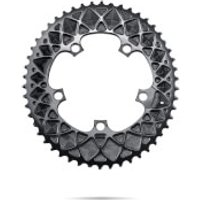 AbsoluteBLACK SRAM Oval Road Chainring - 50T - 5 Bolt 110BCD - Grey