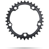 AbsoluteBLACK 110BCD SRAM 5 Bolt Spider Mount Oval Chain Ring (Premium) - Inner Ring