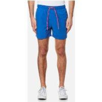 Tommy Hilfiger Mens Solid Swim Shorts - Nautical Blue - XL - Blue