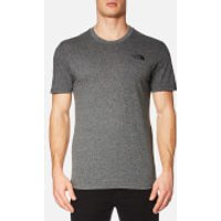 The North Face Mens Simple Dome T-Shirt - TNF Medium Grey - XXL - Grey