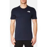 The North Face Men's Short Sleeve Simple Dome T-Shirt - Urban Navy/TNF White - XL - Blue