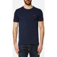 Polo Ralph Lauren Men's Tipped Crew Neck T-Shirt - Navy - M - Blue