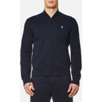 Polo Ralph Lauren Men's Double Knitted Tech Bomber Jacket - Navy - XXL - Blue