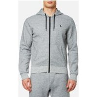 Polo Ralph Lauren Men's Double Knitted Tech Hoody - Grey - L - Grey