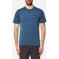 Jack Wolfskin Men's Crosstrail T-Shirt - Ocean Wave - M - Blue