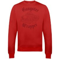 Gangster Wrapper Christmas Sweatshirt - Red - XXL - Red